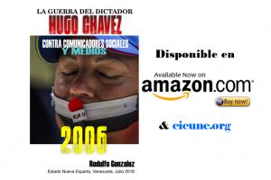 Libro Nuevo: La Guerra Asimétrica del Dictador Hugo Chávez