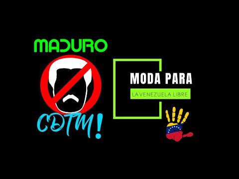 Maduro CDTM Ropa Calcomanías Gorras y Más