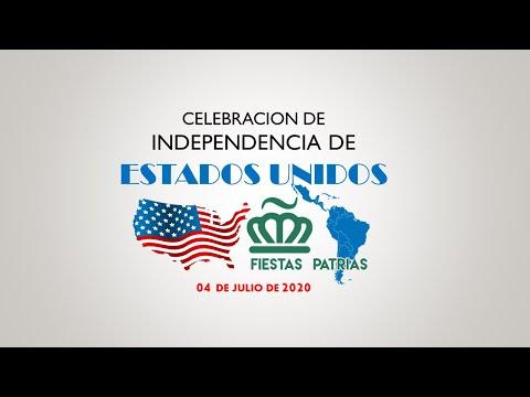 Celebracion Independencia EEUU a cargo del Comité Fiestas Patrias de Charlotte